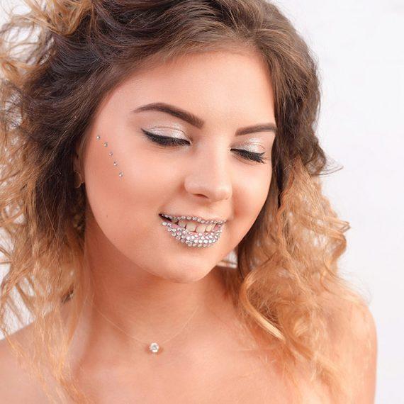 Вечірній макіяж. .Експрес макіяж у Житомирі. Студія Gloria Beauty_04