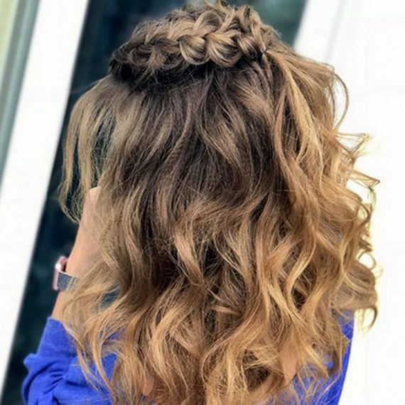 """Вечірні зачіски у салоні краси """"Кураж"""" Житомир"""