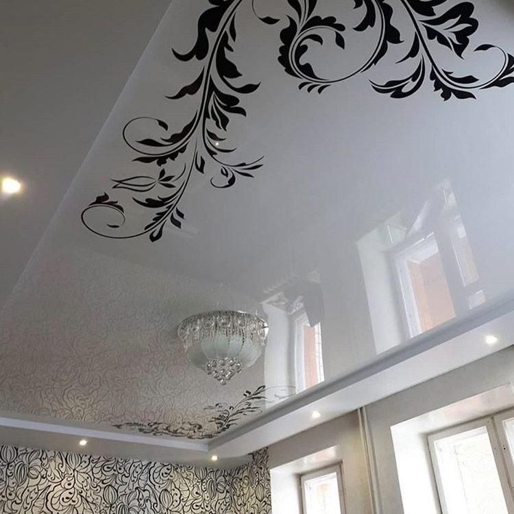 год черно белая картинка на потолок точки для проверки